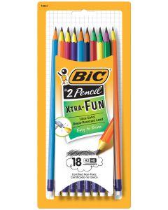 BIC #2 Pencil Xtra Fun