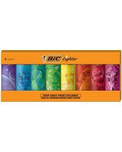 BIC Special Edition Artist Design Series Lighters