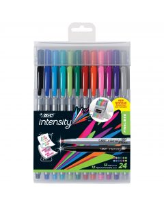 BIC Intensity Fineliner Marker Pen Easel Pack