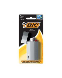 BIC Select Metal Case with Mini Lighter