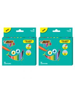 BIC Kids Triangle Coloring Crayons