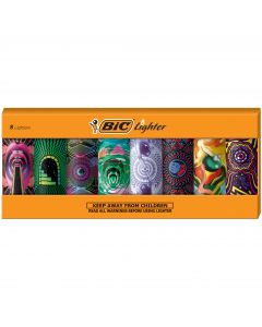 BIC Special Edition Prismatic Series Lighters