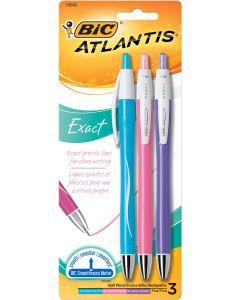 BIC Atlantis Exact Retractable Ball Point Pen